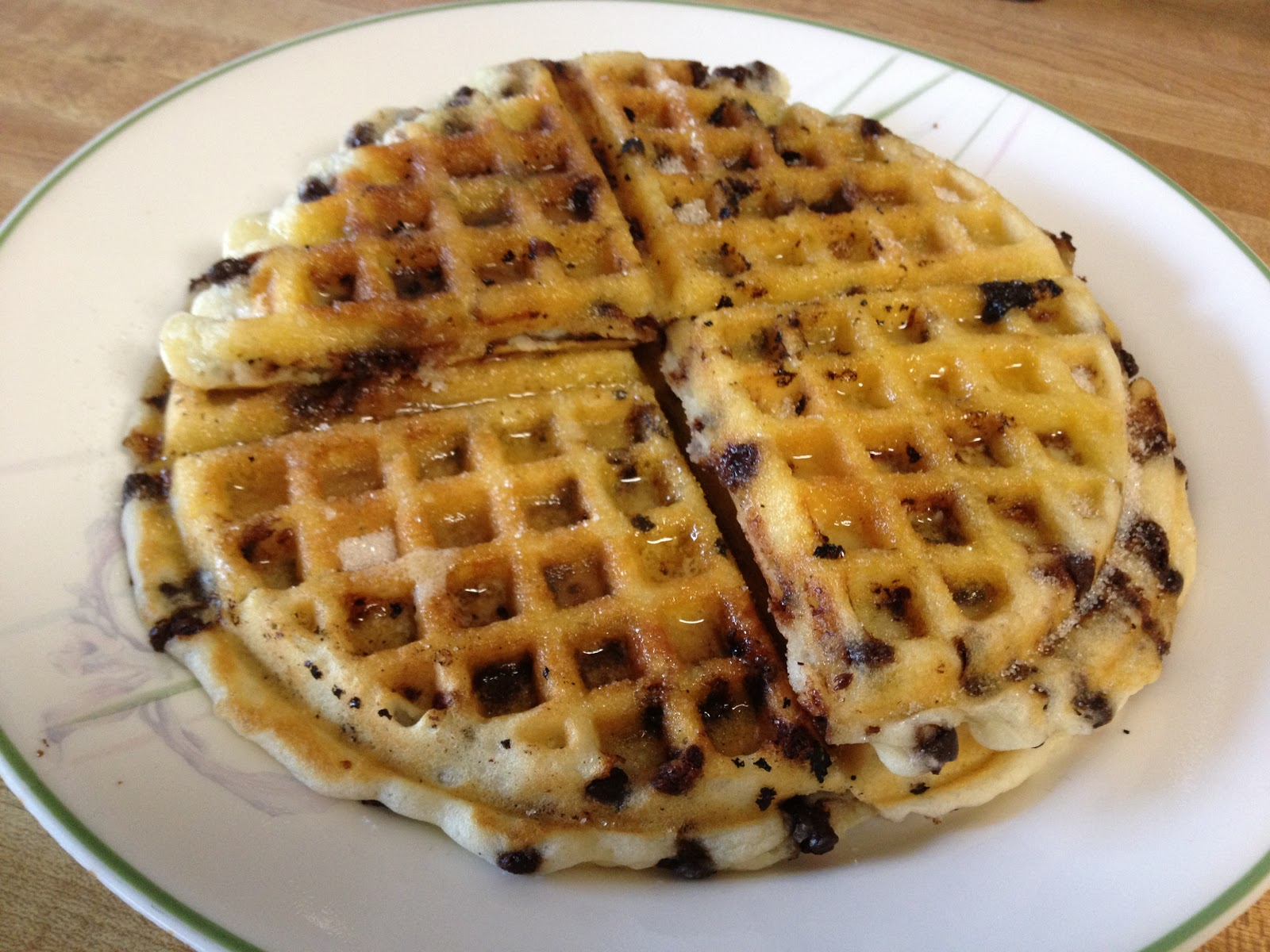 chip, but you can really mix in anything to give your waffles ...