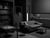 3d model interior ikea vray furniture