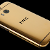 Gold plated HTC One M8 costs over 1500 pounds