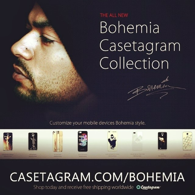 Bohemia Casetagram Collection available now