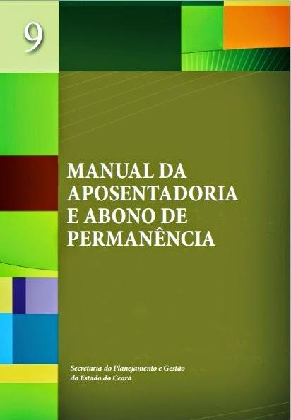MANUAL DA APOSENTADORIA E ABONO