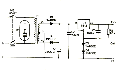 v a switching power supply circuit diagram  juanribon, wiring diagram