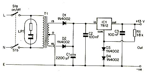 12v portable and mobile power supply circuit diagram electronics rh electro solution blogspot com