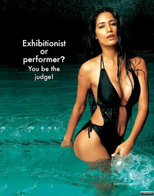 Poonam Pandey in Water