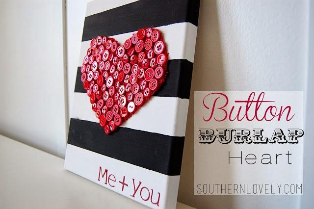 Especial san valentin 20 diy para decorar vuestras - Lienzos para decorar ...