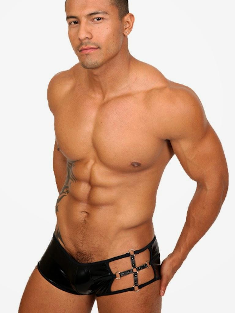 Pistol Pete Master Trunk Underwear Black Gayrado