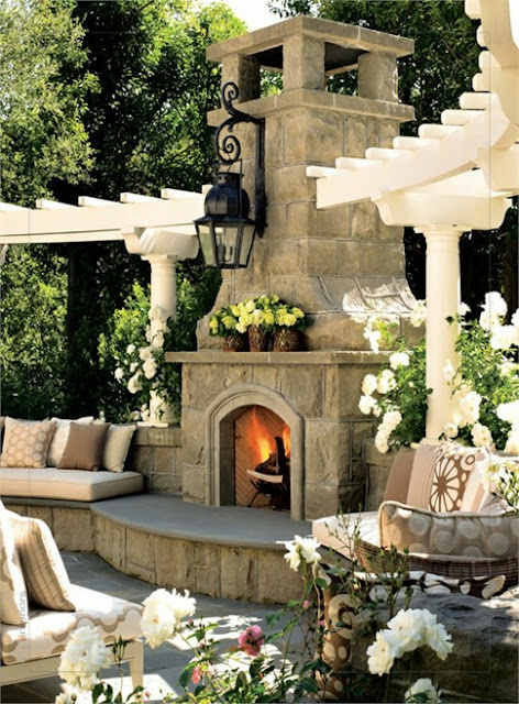 Best Outdoor Living Spaces Amusing Of Outdoor Fireplace and Pergola Pictures