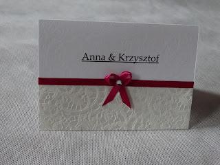 Zaproszenia ślubne – wzory