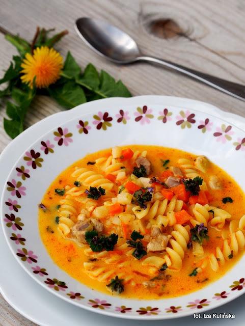 zupa-bluszczyk-kurdybanek-makaron-obiad-potrawa-przepis