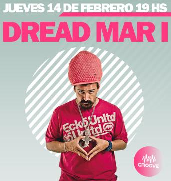 Dread Mar I llega a Groove en el Día de los Enamorados