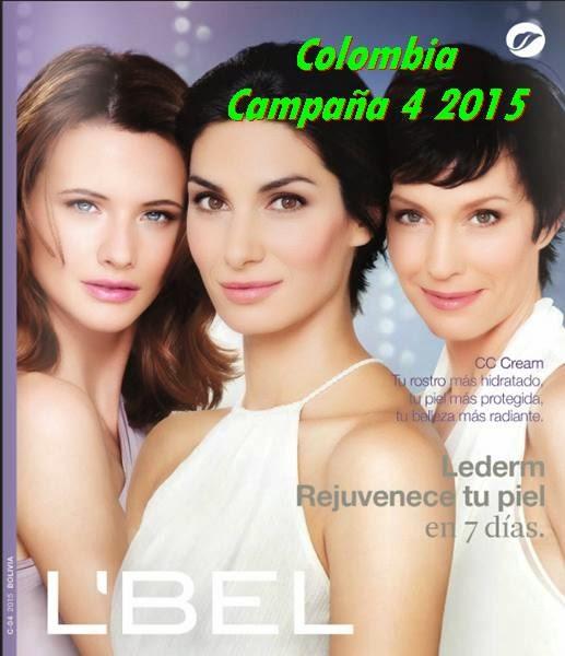 Catalogo 4 de Colombia Lbel 2015