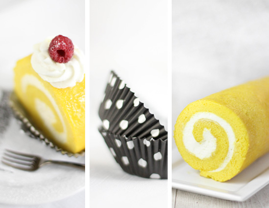 Lemon Cream Roulade