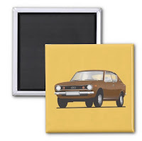 Datsun fridge magnet