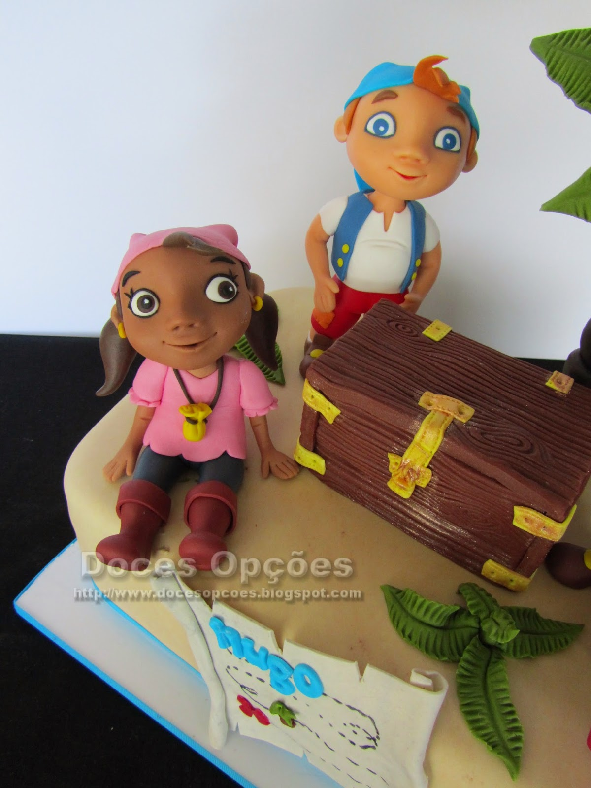 Birthday cake with Jake and the Never Land Pirates