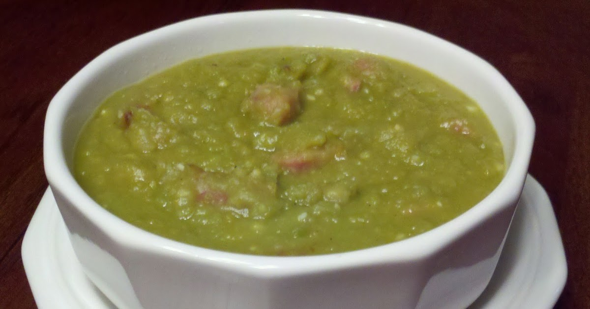 how to make easy split pea soup