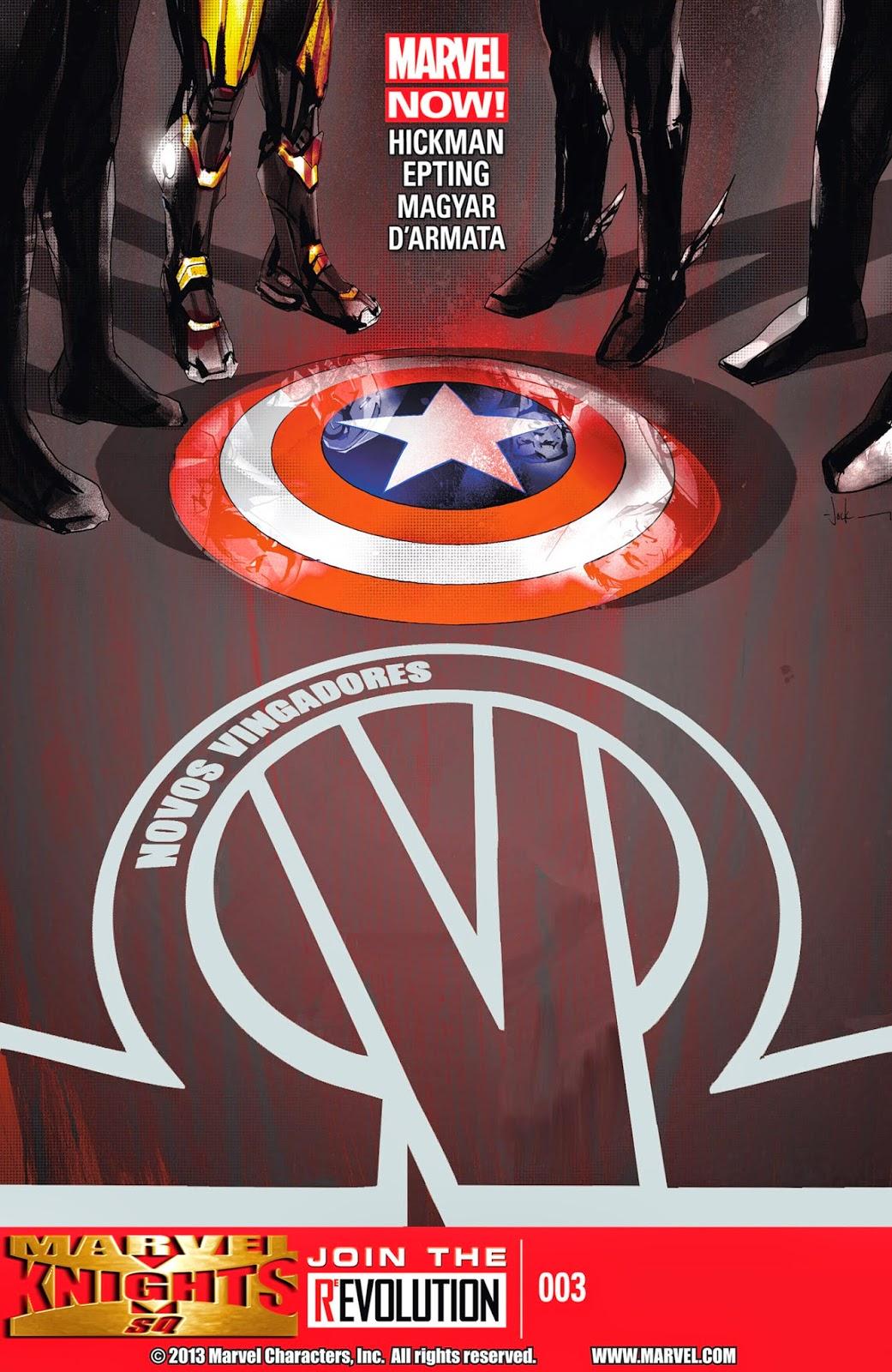 Nova Marvel! Os Novos Vingadores #3