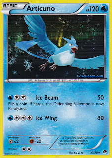 Articuno Next Destinies Pokemon Card
