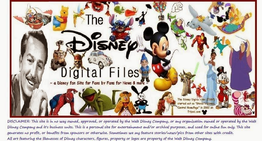The Disney Digital Files (TDDF) - The Happiest Place Online! ™ (always 110% Disney only!)
