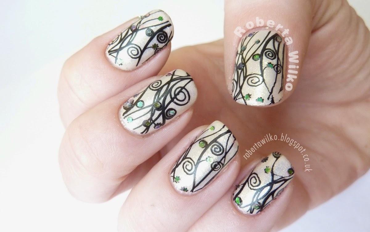 moyou london stamping plate pro collection xl - 14 konad on barry m with op