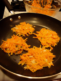 Recipe: Sweet potato latkes
