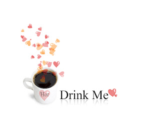 Hot Love Coffee Drink Me Love Wallpaper