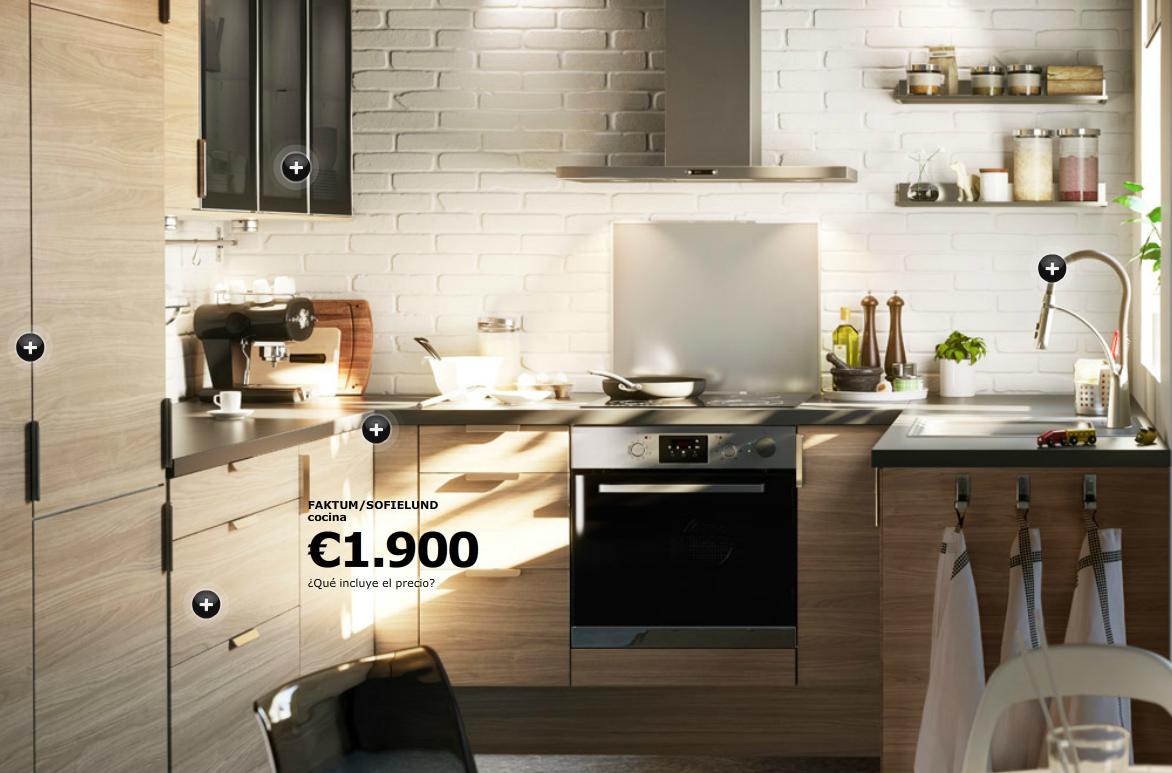 pero mientras tanto gracias a ikea podemos coger muy buenas ideas para esas minsculas cocinas que tienen hoy en da los pisos y conseguir espacios as de