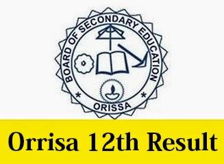 Orissa Board 12th Class Result