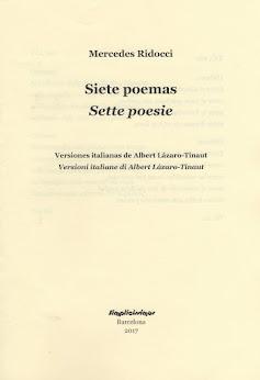 SIETE POEMAS – Plaquette bilingüe (español – italiano)