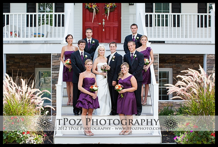 Wedding Party Portraits Kurtz's Beach Bridal Cottage