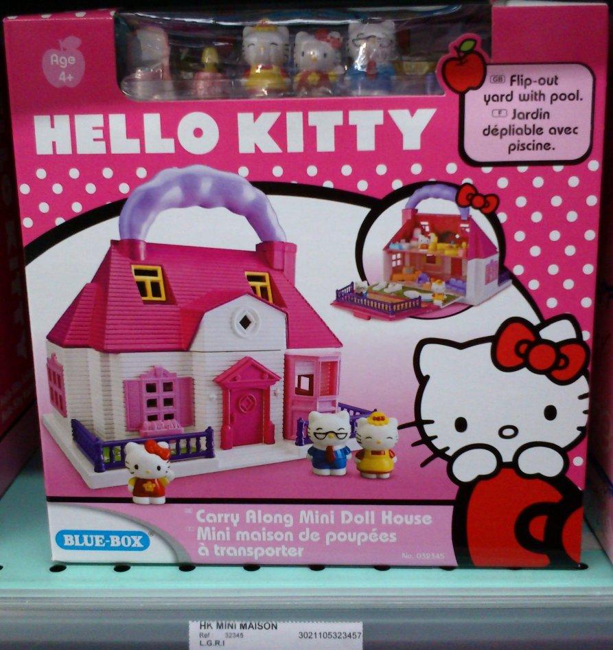 C 39 est trop bien tr ve de mignon dans un contexte crevatif - Maison de poupee hello kitty ...