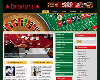Casino Special WordPress Theme