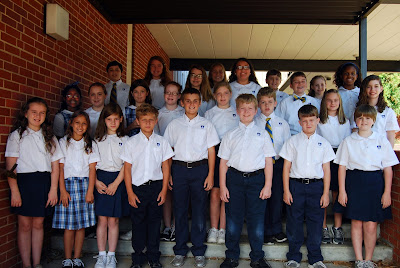 Montgomery Catholic Elementary Campuses Elect Student Council for 2013-2014 1