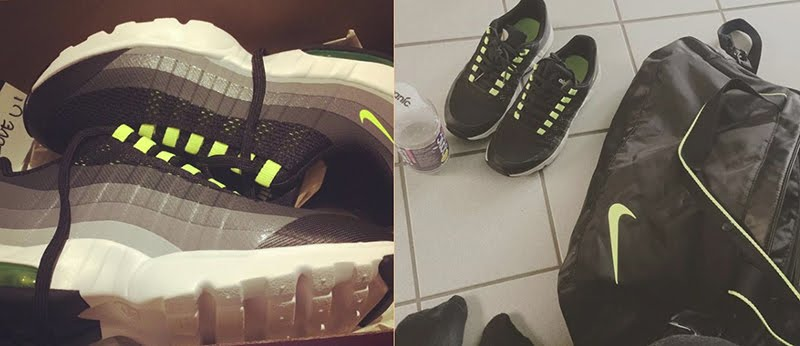 Nike Air Max 95 Ultra Black/Volt