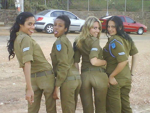 Hot Israeli Military Chicks