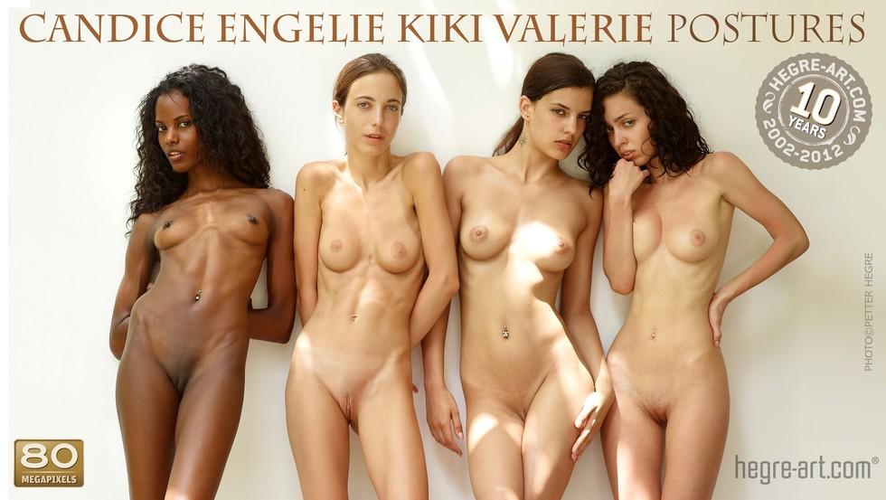 Candice_Engelie_Kiki_Valerie_Postures1 Hegre-Art21 Candice , Engelie , Kiki & Valerie - Postures 11120