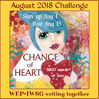 JOIN WEP FOR AUGUST! CHANGE OF HEART!