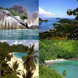 Mahe Island in Seychelles