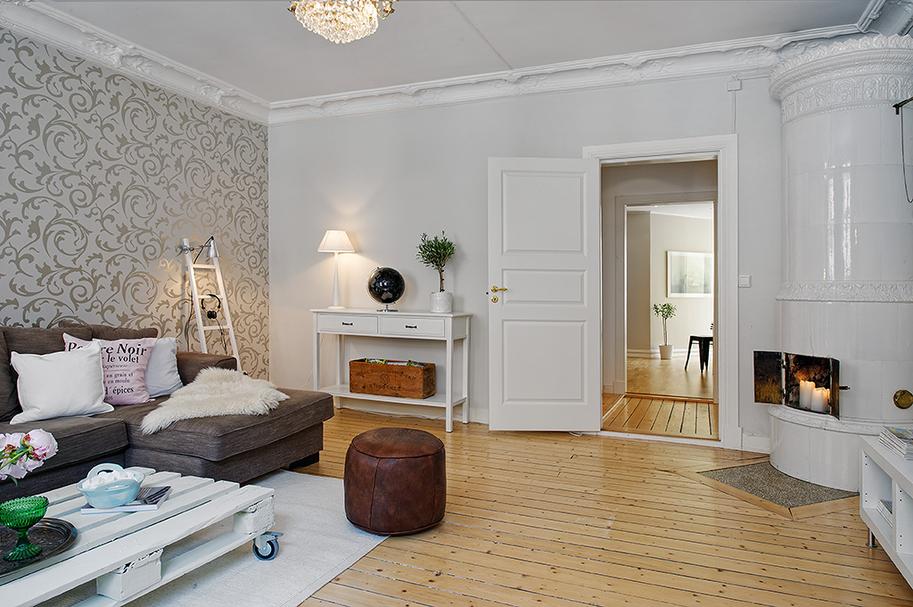 Soliloquiando junio 2012 for Dormitorios empapelados y pintados