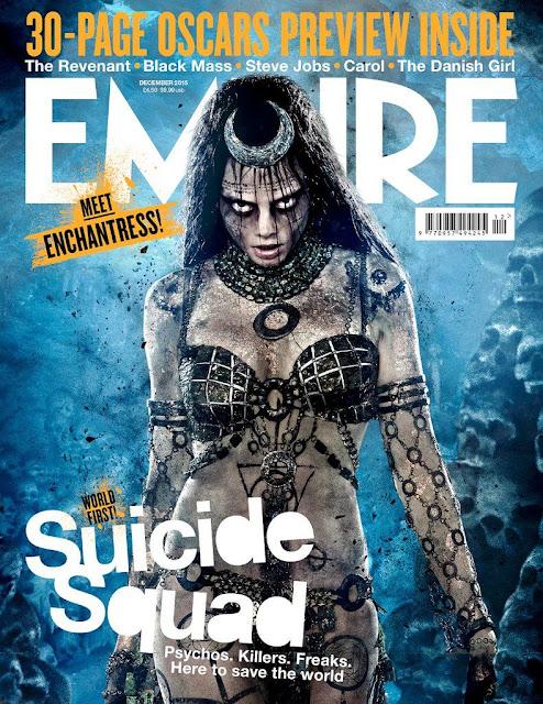Los protagonistas de 'Suicide Squad' acaparan la portada de la revista Empire