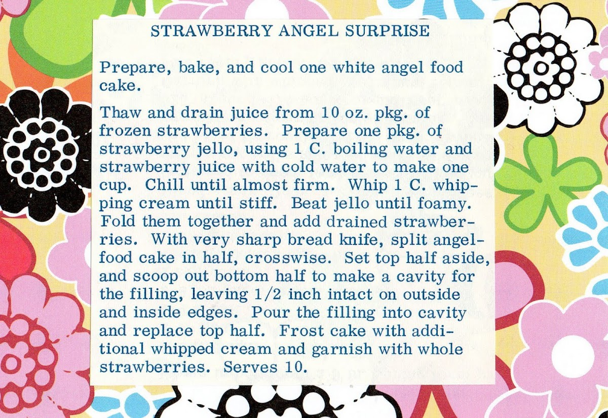 Strawberry Angel Surprise (quick recipe)