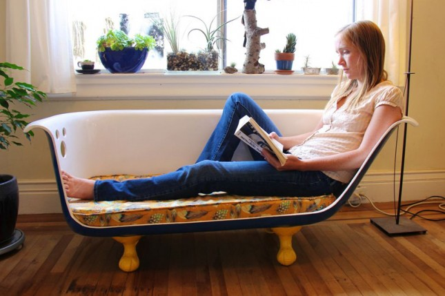 17 Quirky Couches Made From Repurposed Materials Do It