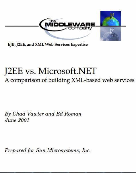 comparison of j2ee and net The project j2ee vs microsoft dot net a qualitative and quantitative comparison for building enterprises supporting xml-based web services submitted by raquel v.
