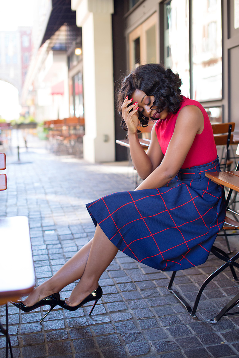 chicwish sway the plaids belted midi-skirt, www.jadore-fashion.com