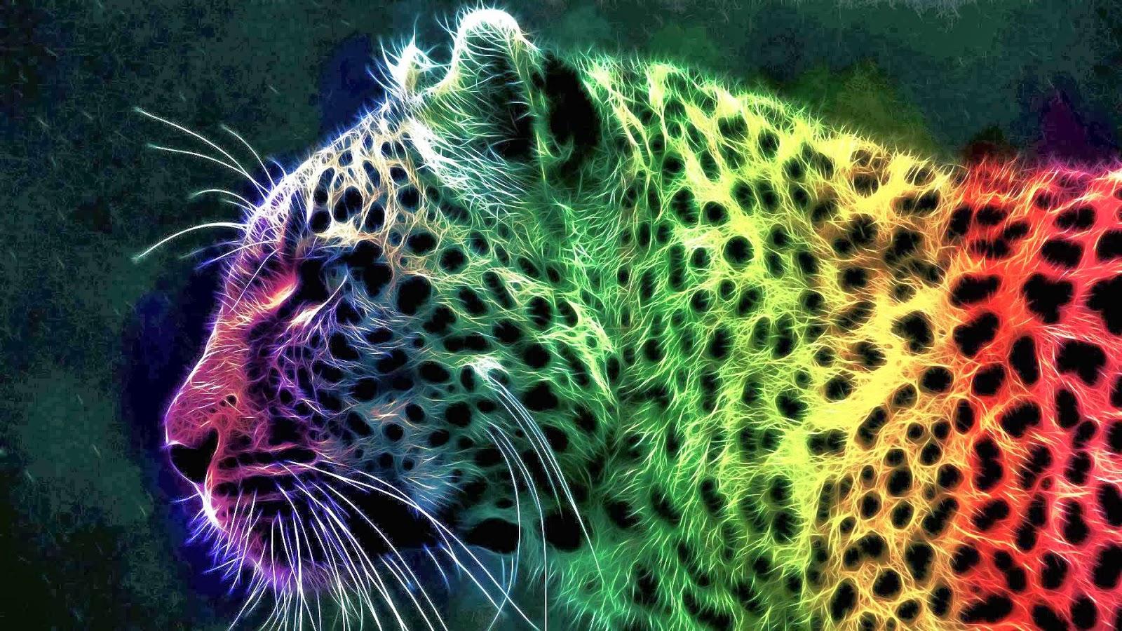 Rainbow Cheetah Wallpaper Best Windows 7 Wallpapers