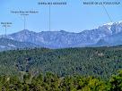 La Serra del Moixeró des del Bosc de Coromines