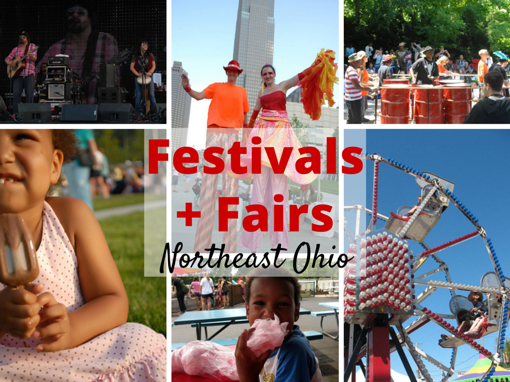Calendar of Festivals, Fairs and Fun in Northeast Ohio #thisiscle #passtheplus