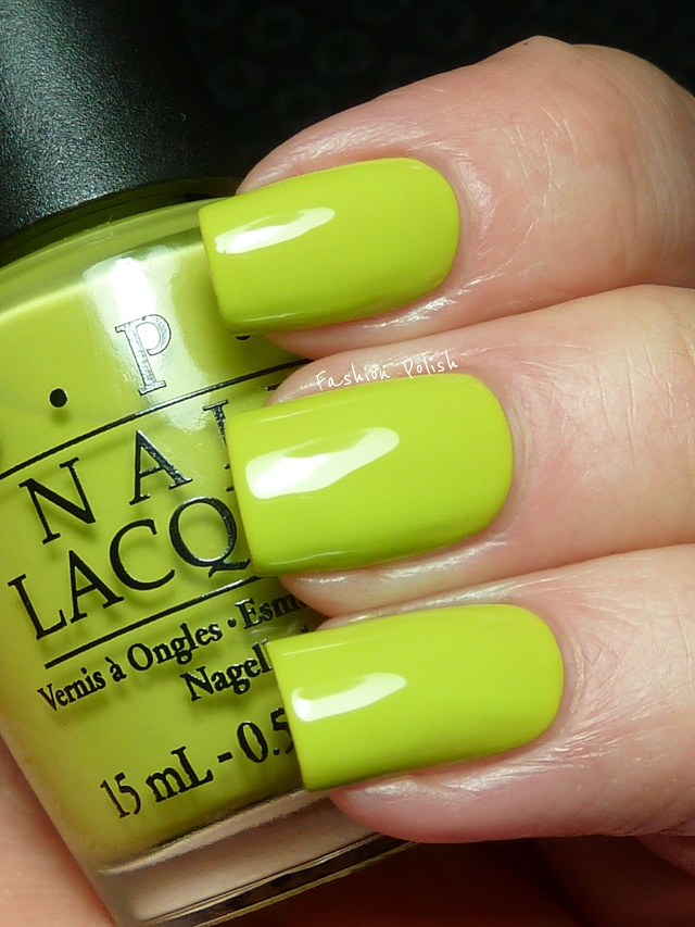 Fashion Polish: OPI Nicki Minaj Collection quick swatches and review