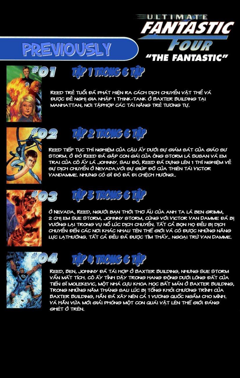 Ultimate Fantastic Four chap 5 - Trang 3