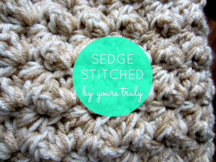 sedge stitch for crochet, beginner crochet