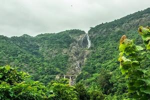 Dudhsagar Water Falls, not much water in last week of June
